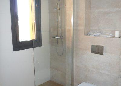 Baño 1. Proyecto calefacción y fontanería en Asturias