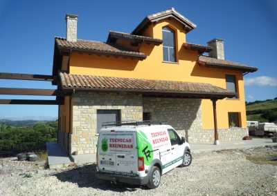 Proyecto calefacción y fontanería en Asturias