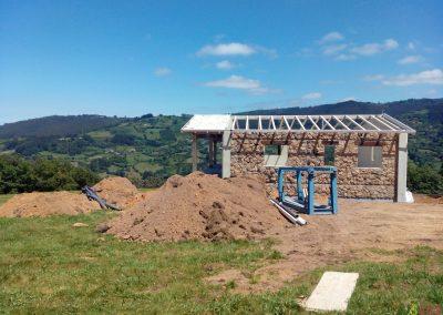 Exterior en construcción Gijón, Asturias