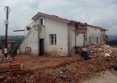 obra en Pola de Siero, Asturias