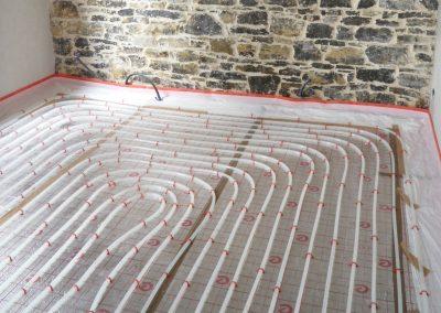 suelo radiante gijon, calefacción, Asturias