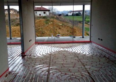 Suelo radiante, calefacción Asturias